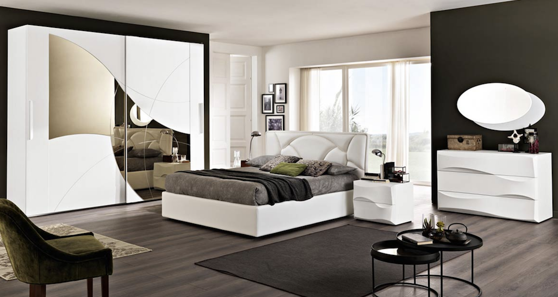 Le camere da letto in stile contemporaneo di Mobili Gentiluomo