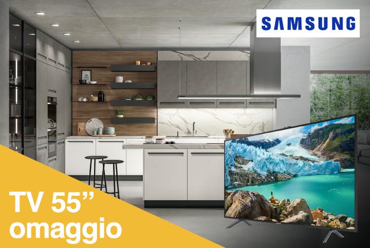 PROMOZIONE_SAMSUNG_TV55_arredo3_mobili_gentiluomo_aragona_agrigento